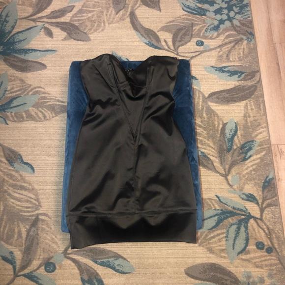 bebe Dresses & Skirts - Strapless black mini dress